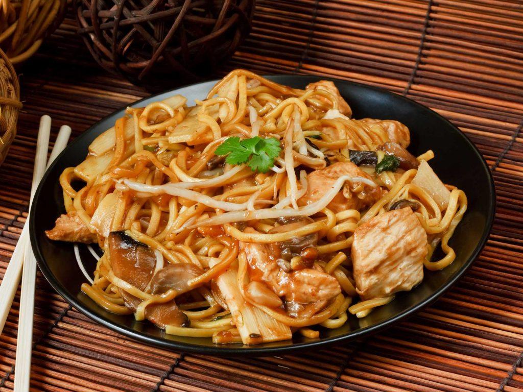 Guida abbinamento, Che Vino bere durante una cena con menù cinese?