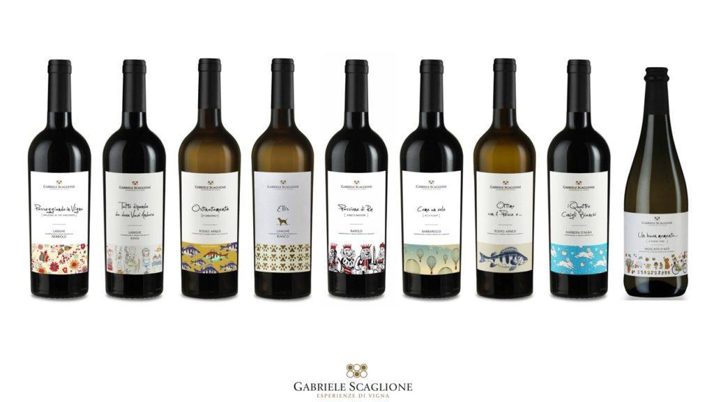 Linea Gabriele Scaglione Piemonte Barolo Vino a porter
