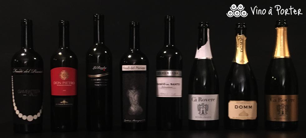 Vino à Porter degustazione 06 febbraio BakerStreetStudio_Bottiglie_Sicilia